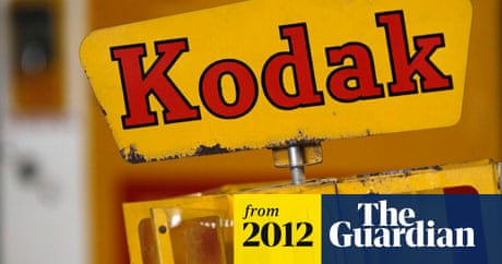 Kodak falls in the 'creative destruction of the digital age' | Business | The Guardian