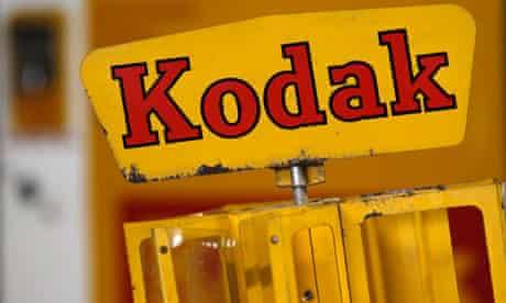 A Kodak film dispenser