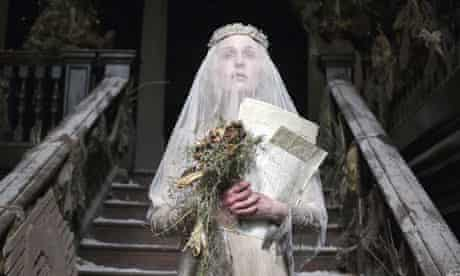 Gillian Anderson as Miss Havisham in the BBC's Great Expectations