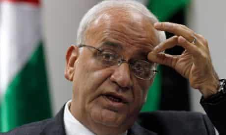 Chief Palestinian negotiator Saeb Erekat 2/1/12