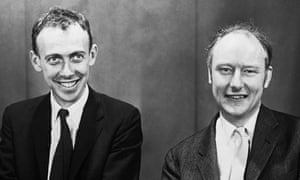 James Watson and Francis Crick in 1959