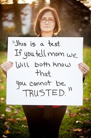 """extraordinarywomen: """"This is a test. If you tell mom, we will both know you cannot be TRUSTED"""""""