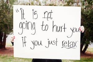 """extraordinarywomen: """"This is not going to hurt you if you just relax"""""""