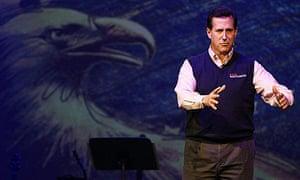 Santorum Campaigns In South Carolina Ahead Of Primary