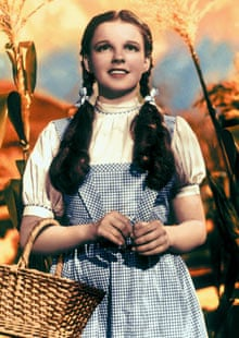 Judy Garland in a still from The Wizard of Oz