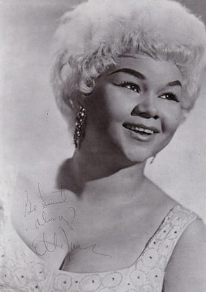 Etta James Obituary: 1960: Etta James at the beginning of her career