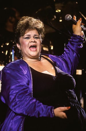 Etta James Obituary: July 1991: Performing at Jazz Vienne, France