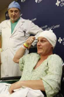 Daniel Autullo, who thought his skull was only grazed in the nailgun accident