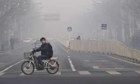 Heavy smog is a daily fact of life for residents of Beijing