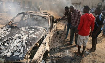 Bomb blasts in Nigeria, Christmas Day 2011.