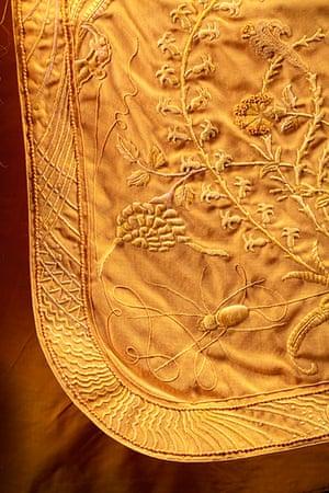 Spider cape: Detail of spider cape