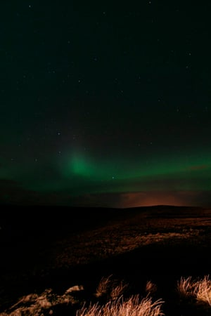 Northern lights from Voe, Shetland, by Stuart Duncan