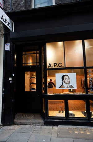 Redchurch Street: Exterior view of A.P.C.