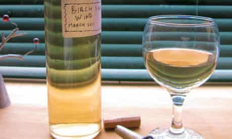 John Wright's birch sap wine
