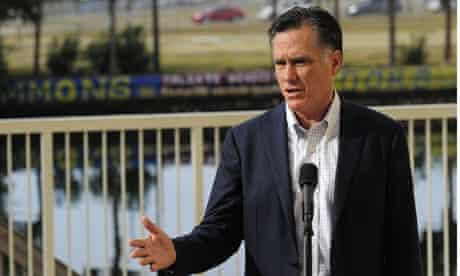 Mitt Romney in Tampa Florida