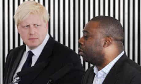 Boris Johnson and Ray Lewis