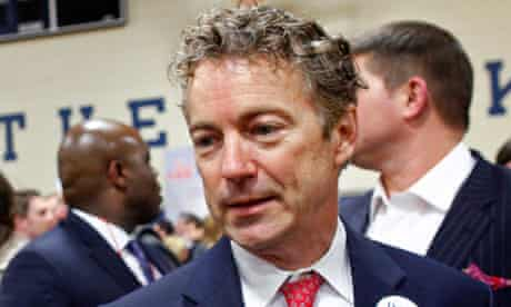 Senator Rand Paul, who was detained by TSA officials in Nashville