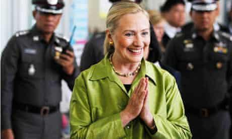 Hillary Clinton in Thailand