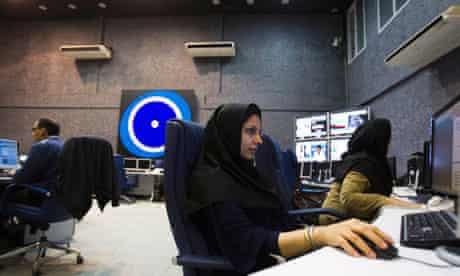 Press TV newsroom, Tehran