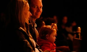 family in theatre audience