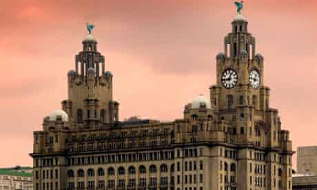 The Liver Building, one of Liverpool's world heritage 'Three Graces'