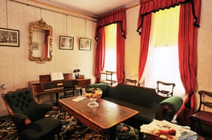 dickens interiors gallery: Drawing room Doughty Street