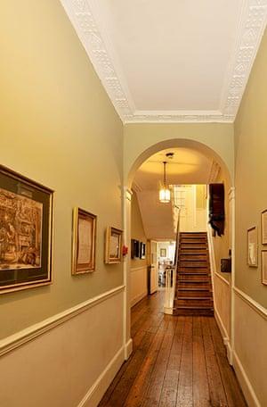 dickens interiors gallery: Hallway Doughty Street
