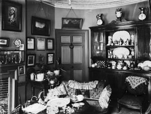 dickens interiors gallery: Drawing room at Doughty Street