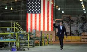 Mitt Romney in Tampa, Florida