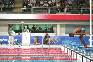 Eric the eel: Swimming - Sydney 2000 - Eric Moussambani