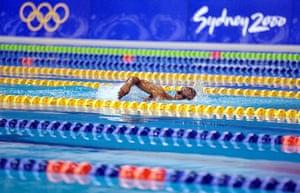 Eric the eel: Swimming 100 Free