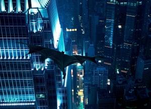 Skyscrapers in film: The Dark Knight film still