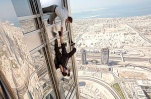 Skyscrapers in film: Mission: Impossible - Ghost Protocol, film still