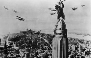 Skyscrapers in film: 1933 King Kong gilm still