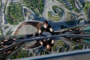 Skyscrapers in film: Mission Impossible - Ghost Protocol film still