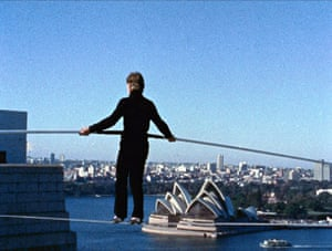 Skyscrapers in film: Man on Wire film still