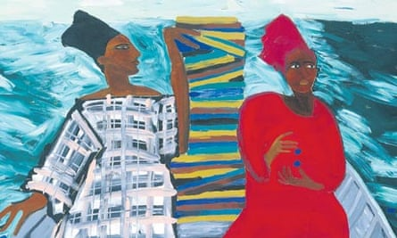 Lubaina Himid's painting Between the Two My Heart Is Balanced