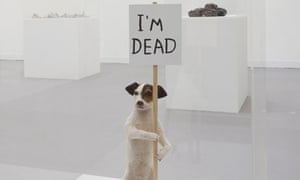 David Shrigley at the Hayward Gallery - I'm Dead, 2010