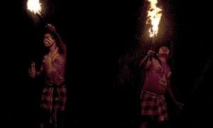 Balinese fire dance.