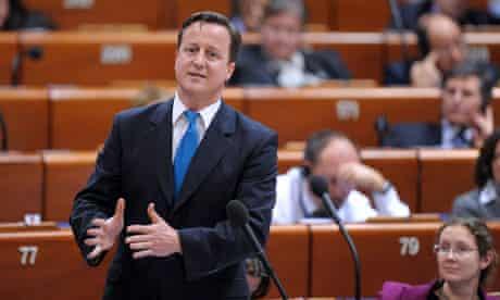 David Cameron: Council of Europe speech