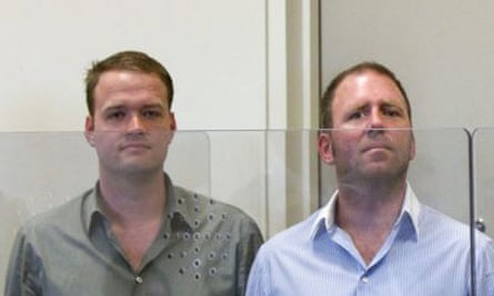 Bram van der Kolk and Finn Batato have been released on bail in the Megaupload piracy case