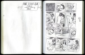 Craig Thompson: Craig Thompson sketchbook 4