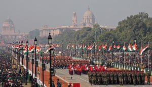 India Republic Day: The 63rd Republic Day of India parade at Rajpath, New Delhi