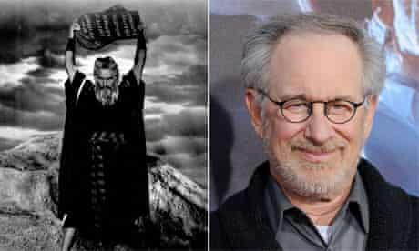 Charlton Heston as Moses/Steven Spielberg