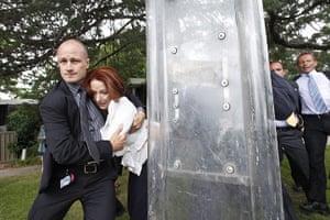 24 hours in pictures : Julia Gillard