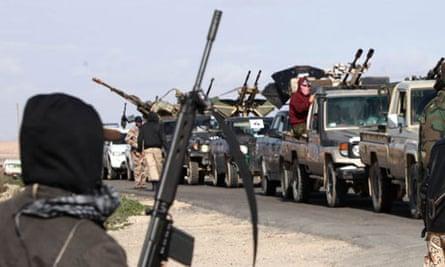 Libyan militia ben walid