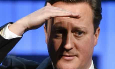 Cameron in Davos