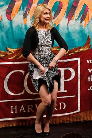 Hasty Pudding Club: Claire Danes as the Hasty Pudding Theatricals Woman of the Year
