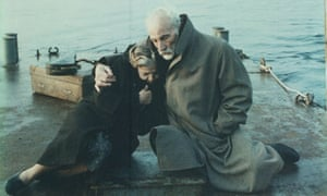 Film still from Voyage to Cythera directed by Theo Angelopoulos