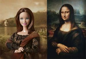 Jocelyne Grivaud Barbies: The Mona Lisa